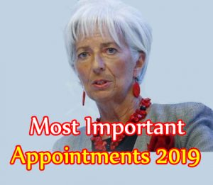 TOP 100 | important appointments | Current Affairs 2020 | महत्वपूर्ण नियुक्तियां