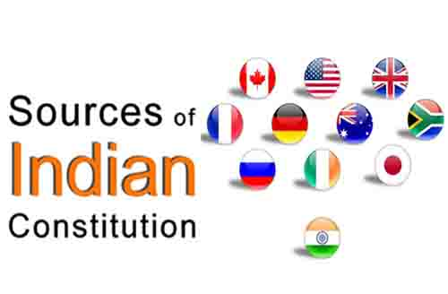 भारतीय संविधान के विदेशी स्त्रोत (Foreign Sources of the Indian Constitution)