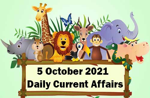 4 October 2021 Daily Current Affairs in Hindi | daily current gk 2021